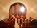A wedding ceremony from the 1980's in Richmond Indiana's Olde North Chapel