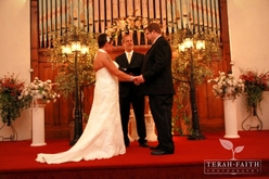 Indiana Wedding Ceremony at The Olde North Chapel